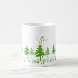 nature's thoughts coffee mug