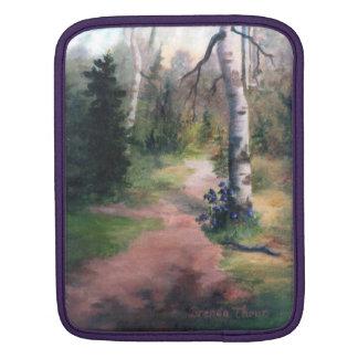 natures trail ipad sleeve