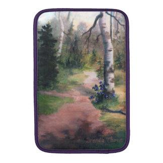natures trail macbook sleeve