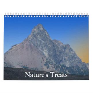 Nature's Treats Calendar