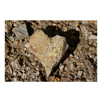 "Nature's Valentine ""Love Rocks"" Poster"