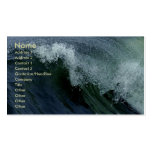 Nature's Wave Business Card