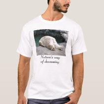 Nature's way of chumming- Polar Bear T-shirt