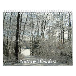Natures Wonders-Calendar