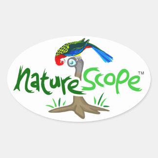 Naturescope Rosella Mascot 'Chip' Logo Sticker