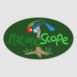Naturescope Rosella Mascot 'Chip' Logo Sticker (Gr