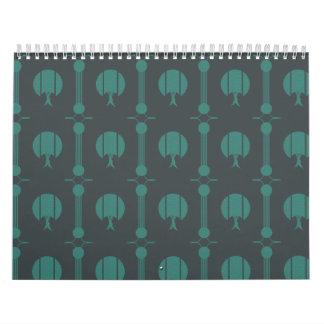 NatureSeries-Nature Green Calendar