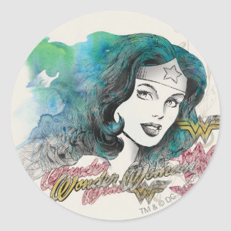 Naturess Design 7 Classic Round Sticker