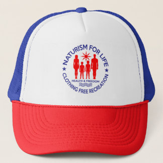 Naturist - Naturism For Life Trucker Hat