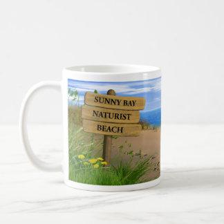 Naturist / Nudist Beach Mug