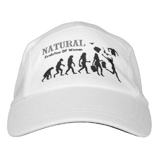 Naturist Nudist Evolution Hat