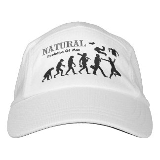 Naturist Nudist Evolution Headsweats Hat