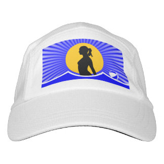 Naturist Nudist Flag Headsweats Hat