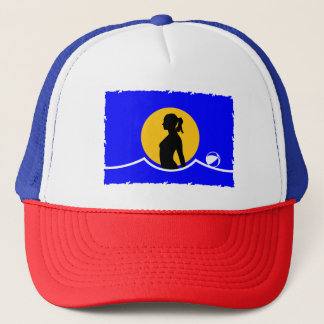 Naturist/Nudist Flag Trucker Hat