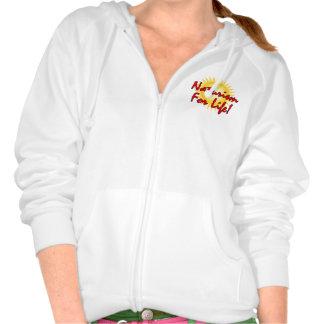 Naturist / Nudist Hooded Sweatshirt