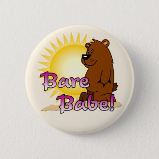 Naturist / Nudist Pinback Button