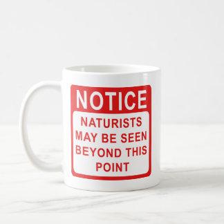 Naturists Coffee Mug