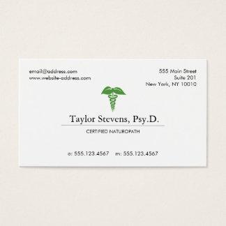 Naturopath Naturopathic Doctor Holistic Health Business Card