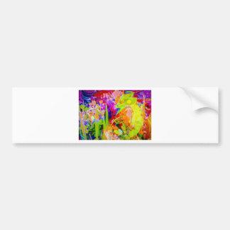 Natut abstract 2 bumper sticker