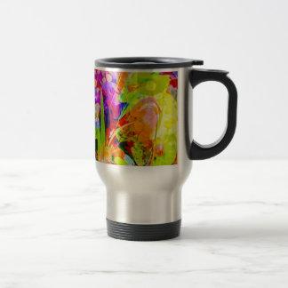 Natut abstract 2 travel mug