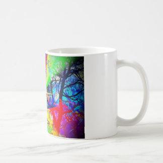 Natut abstract 3 coffee mug