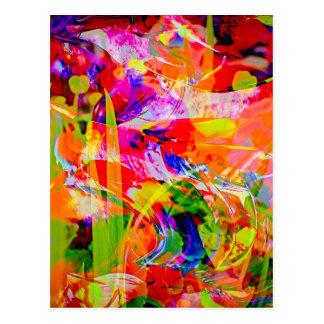Natut abstract 6 postcard