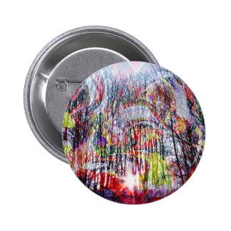 Natut abstract pinback button