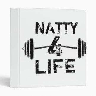 Naty 4 Life Logo Wear 3 Ring Binder