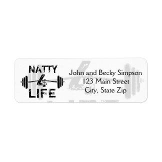Naty 4 Life Logo Wear Label