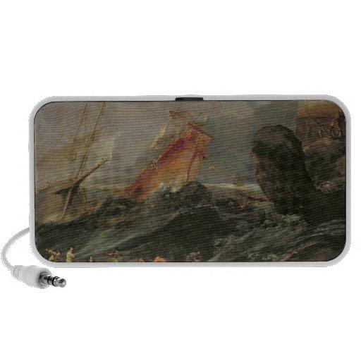 Naufragio en una orilla rocosa, c.1645-50 iPhone altavoces