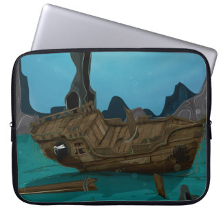 Naufragio subacuático fundas portátiles
