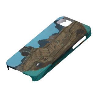 Naufragio subacuático iPhone 5 fundas