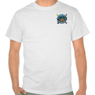 Naufragios de la caza t-shirts