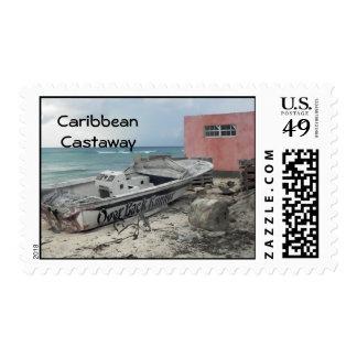 Náufrago del Caribe Franqueo