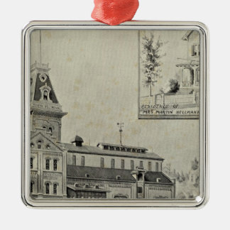 Naugatuck Val Brewery Metal Ornament