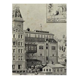 Naugatuck Val Brewery Postcard