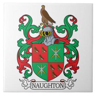 Naughton Family Crest Tile