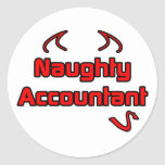 Naughty Accountant Stickers