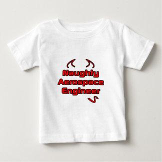 Naughty Aerospace Engineer Baby T-Shirt