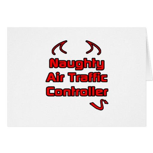 Naughty Air Traffic Controller Card