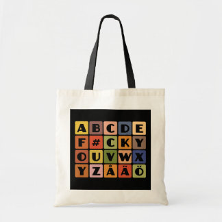Naughty Alphabets bag– choose style & color