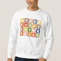 Naughty Alphabets shirt – choose style & color
