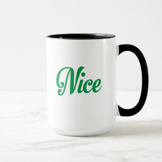 Naughty and Nice Christmas Mug