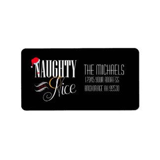 Naughty and Nice, Holiday Label