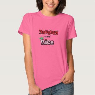 Naughty and Nice T-Shirt