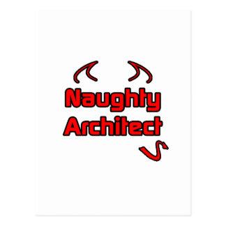 Naughty Architect Postcards