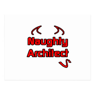 Naughty Architect Postcard