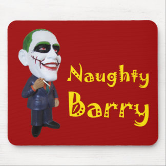 naughty barry obama mouse pad