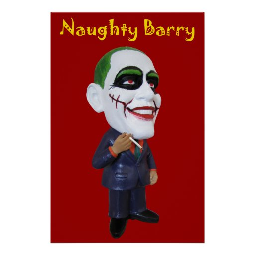 naughty barry obama poster