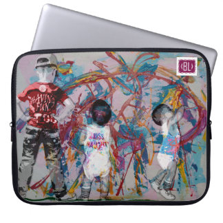 Naughty- beauty queen padded laptop marries laptop sleeve